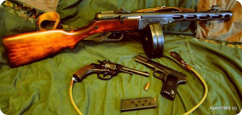 23)Пневматический ППШ-41 «MP-562K». Обзор и фото.