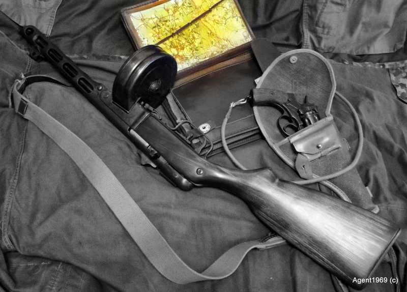 24)Пневматический ППШ-41 «MP-562K». Обзор и фото.