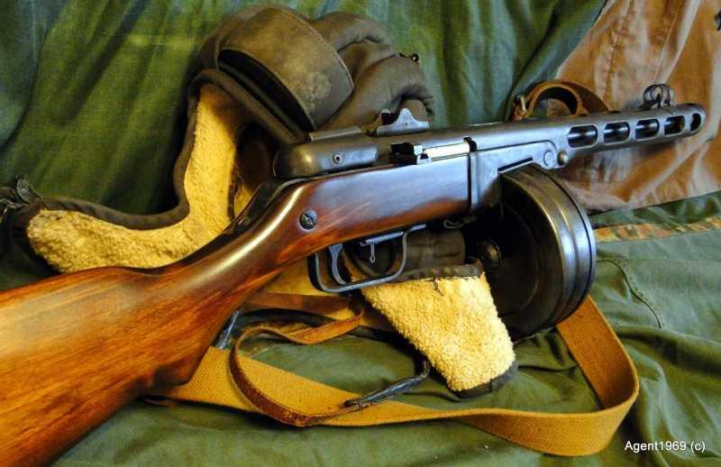 25)Пневматический ППШ-41 «MP-562K». Обзор и фото.