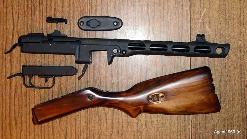 16)Пневматический ППШ-41 «MP-562K». Обзор и фото.