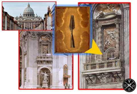 Лоджия в соборе Святого Петра в Ватикане
