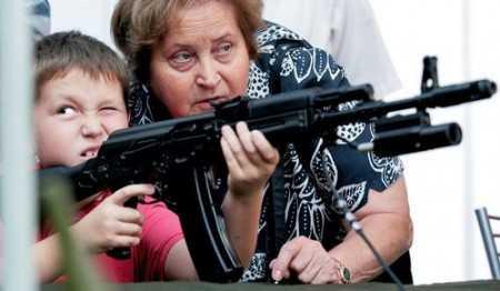 4)Подрастающее поколение (Что такое хорошо и что такое плохо (об оружии))