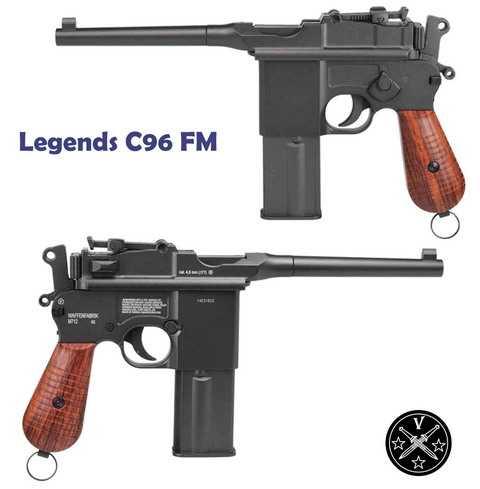 Пневматический пистолет Umarex Legends C96FM (Маузер)