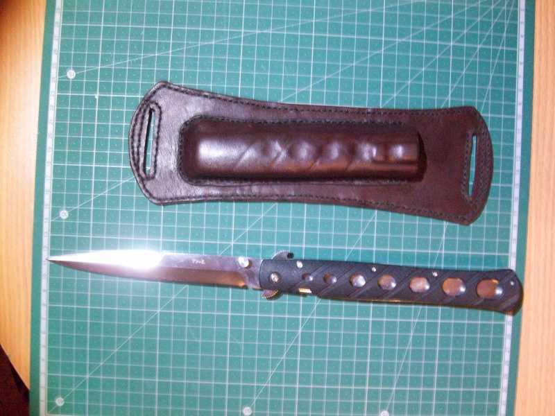 2)Удобные ножны для Cold Steel TiLite 6