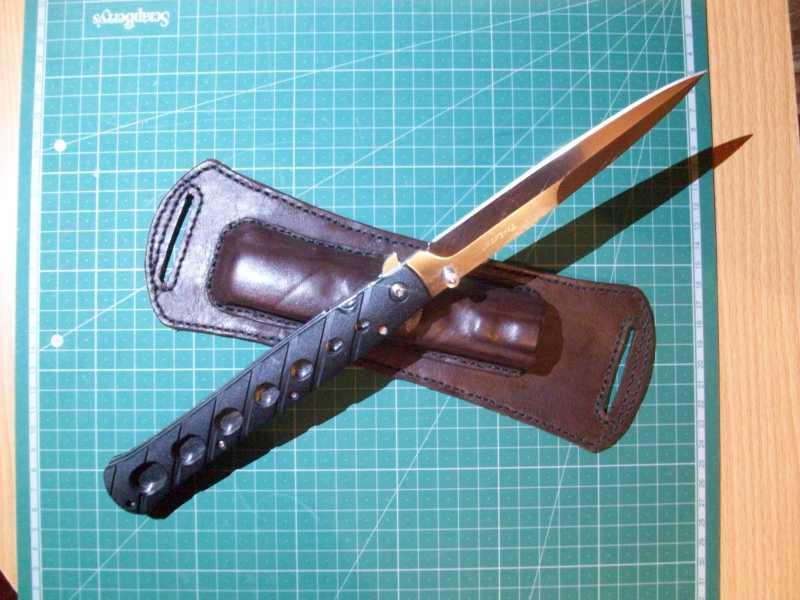 12)Удобные ножны для Cold Steel TiLite 6