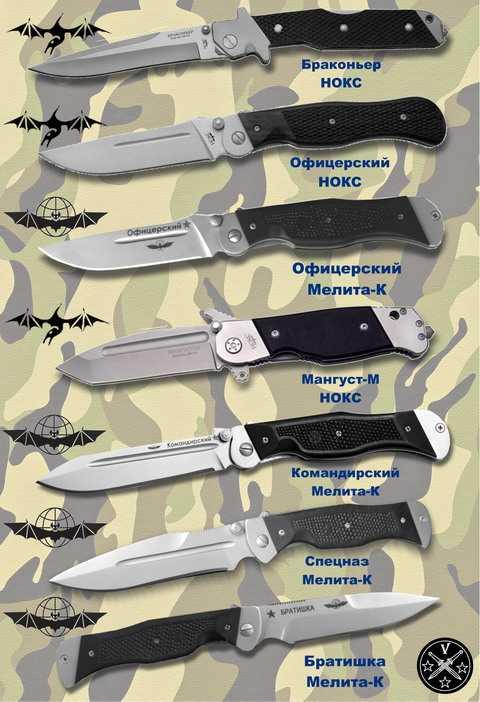 Складные тактические ножи Игоря Скрылева