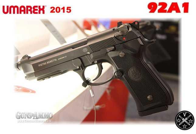 Новый пневматический пистолет 92A1 - пневматическая копия Беретты