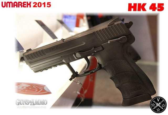Новый пневматический пистолет Umarex HK45