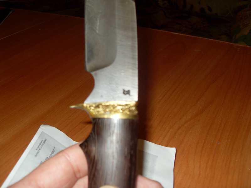 7)Продолжу звериную тему (нож бобр)