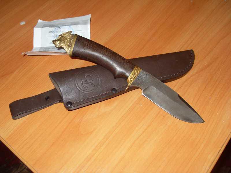 8)Продолжу звериную тему (нож бобр)