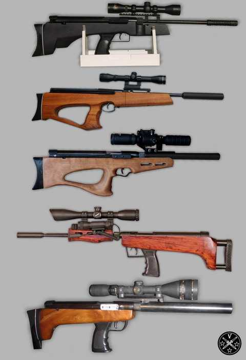 Примеры тьюнинга винтовки Shanghai QB-57 (57-й кубик)