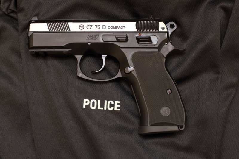 1)Пневматический пистолет ASG CZ 75D COMPACT ч.2