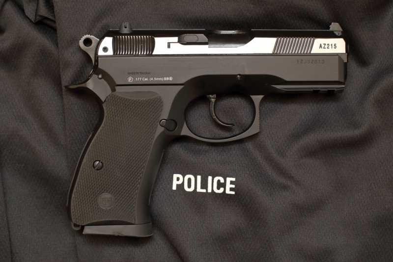 2)Пневматический пистолет ASG CZ 75D COMPACT ч.2