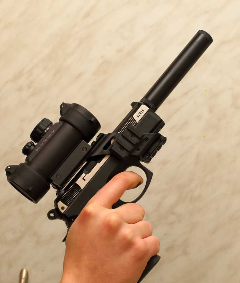 4)Пневматический пистолет ASG CZ 75D COMPACT ч.2