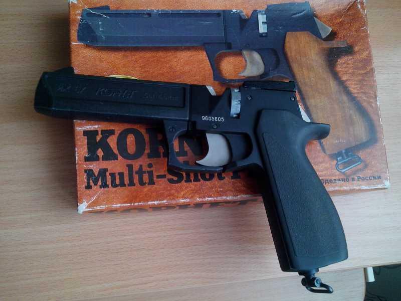 1)Пневматические пистолеты