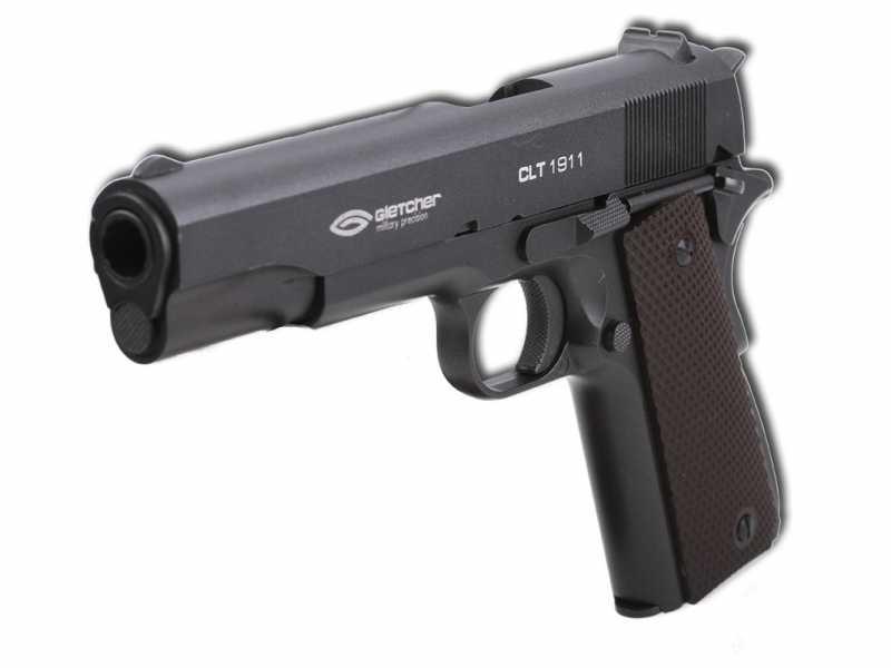 2)Пневматические пистолеты