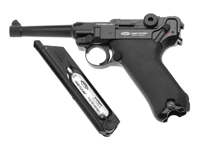 3)Пневматические пистолеты
