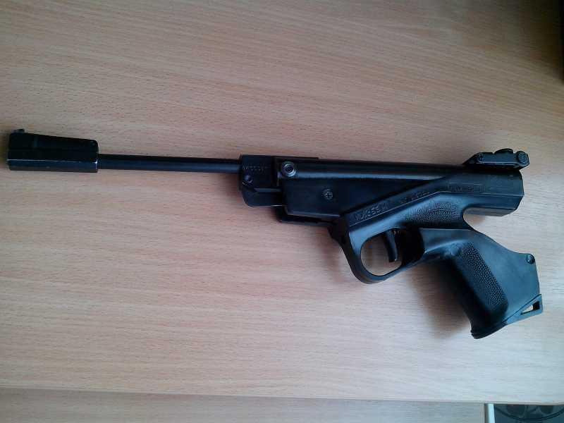 6)Пневматические пистолеты