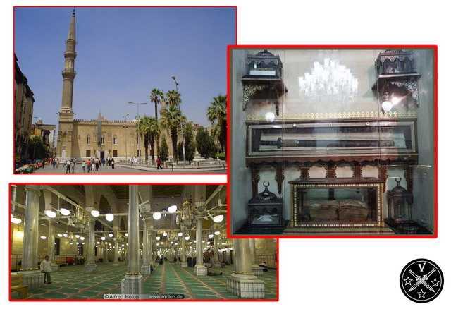 Мечеть Аль-Хуссейн в Каире и меч Аль-Адб
