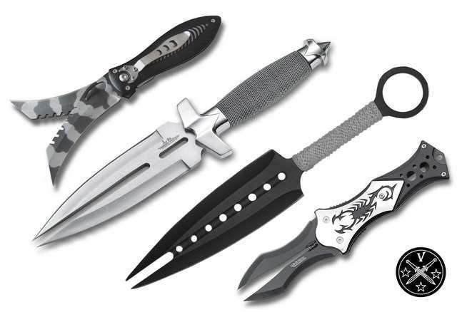Двухклинковые ножи