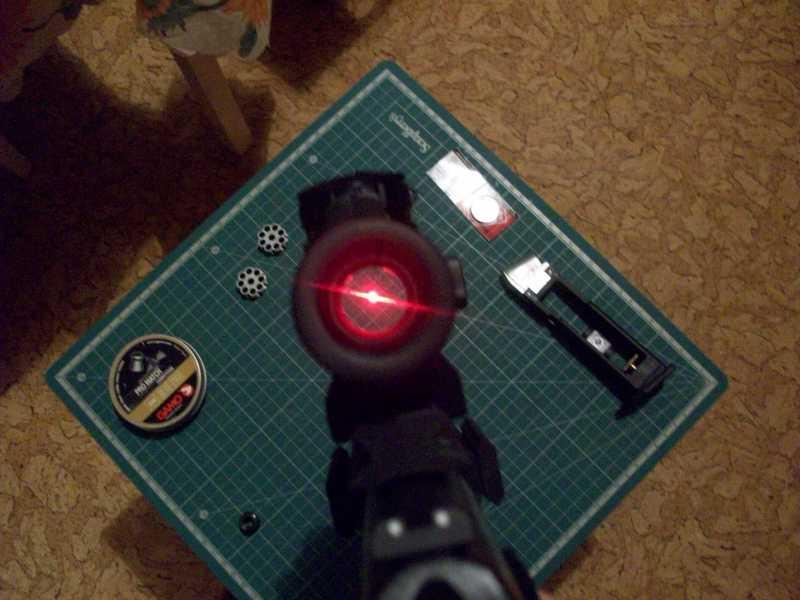 7)Обзор пневматическго пистолета Umarex Walther NightHawk