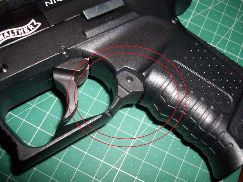 8)Обзор пневматическго пистолета Umarex Walther NightHawk
