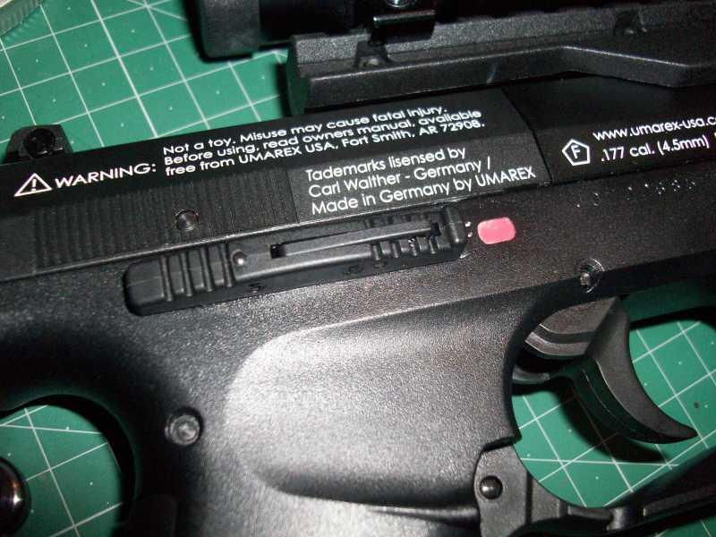 16)Обзор пневматическго пистолета Umarex Walther NightHawk
