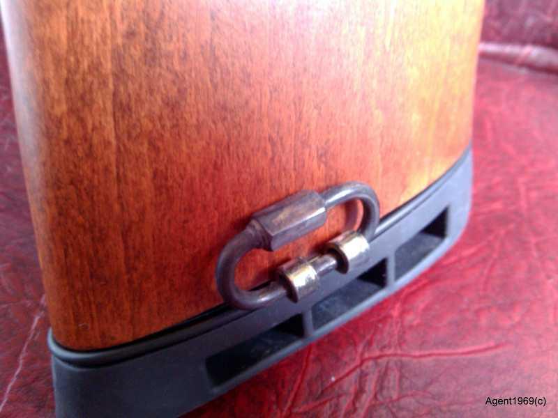 8)Винтовка GAMO CFX Royal - доработка в домашних условиях. Антабки.