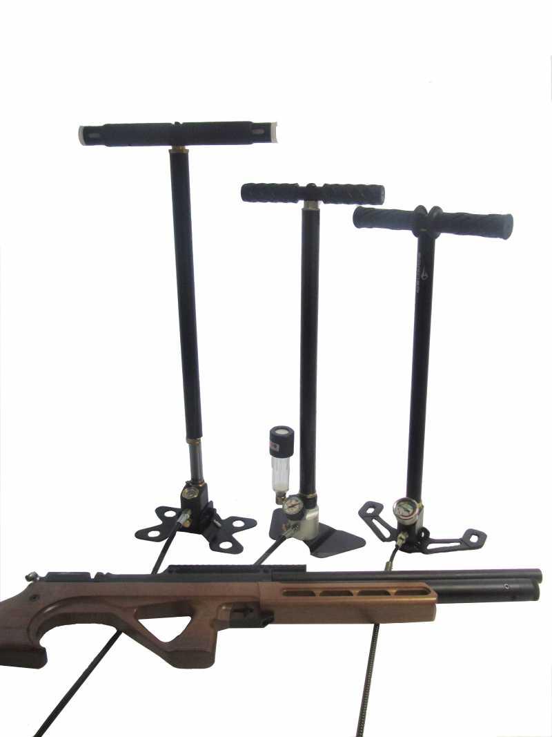 1)Насосы высокого давления для PCP винтовок. Air-Gun эксперимент