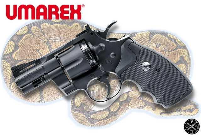 Новые пневматические Colt Python от компании Umarex