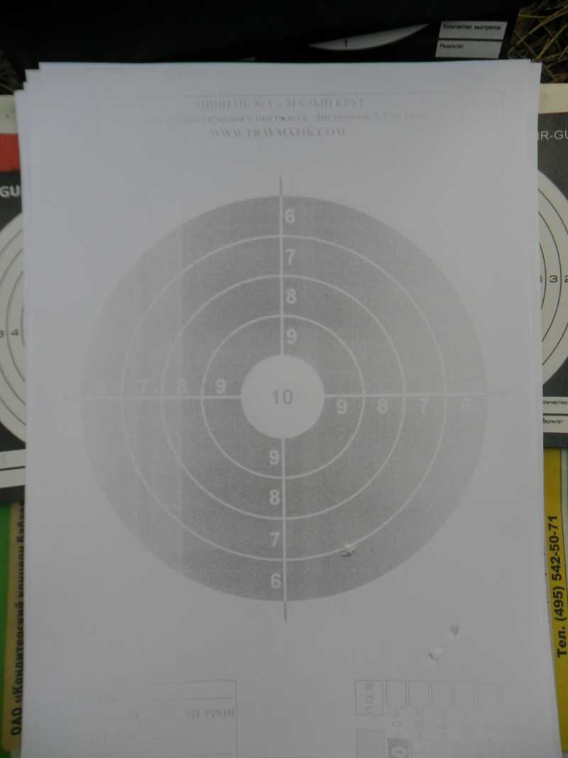 6)Стрельба из пистолета Swiss Arms SIG X-FIVE