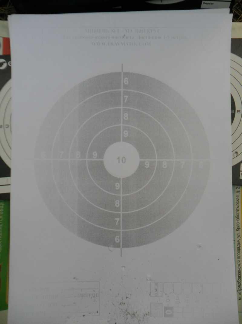 7)Стрельба из пистолета Swiss Arms SIG X-FIVE