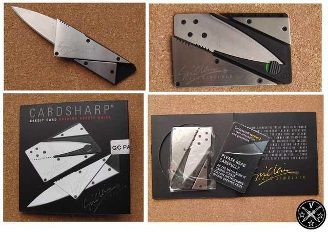 Китайский вариант ножа Card Sharp усиленной конструкции