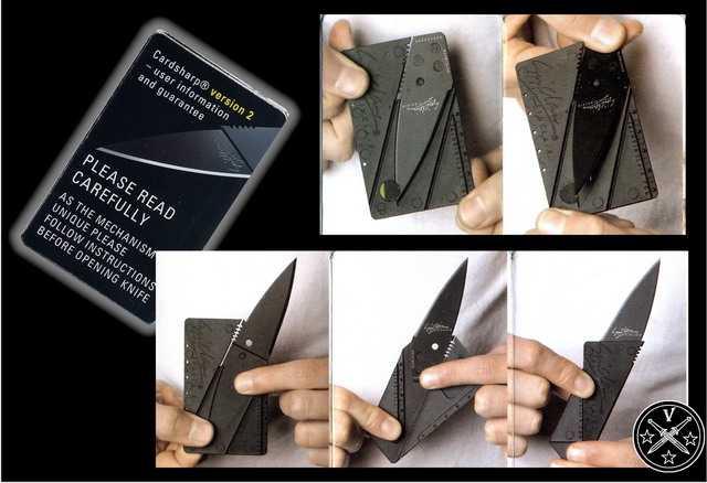 Флаер с последовательностью открывания Card Sharp