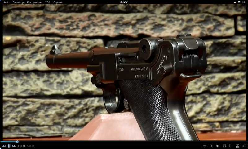 1)Изменение внешнего вида пистолета Umarex Legends P.08 до состояния