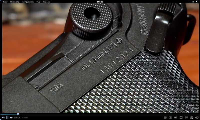 2)Изменение внешнего вида пистолета Umarex Legends P.08 до состояния