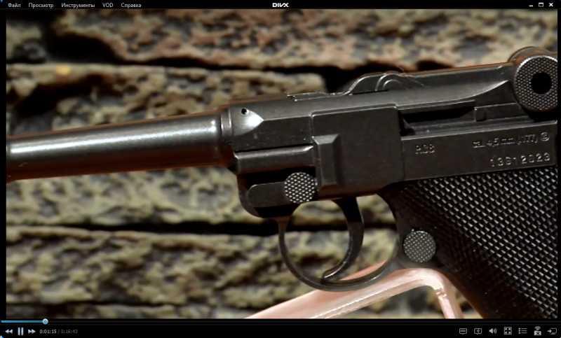 3)Изменение внешнего вида пистолета Umarex Legends P.08 до состояния