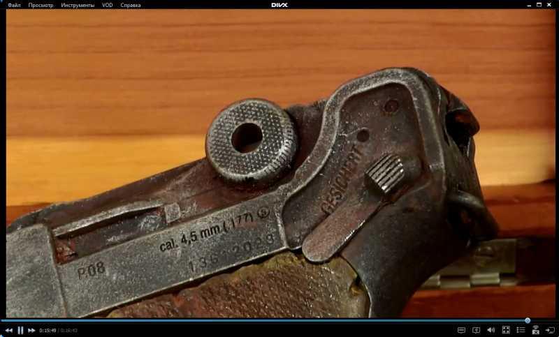 6)Изменение внешнего вида пистолета Umarex Legends P.08 до состояния