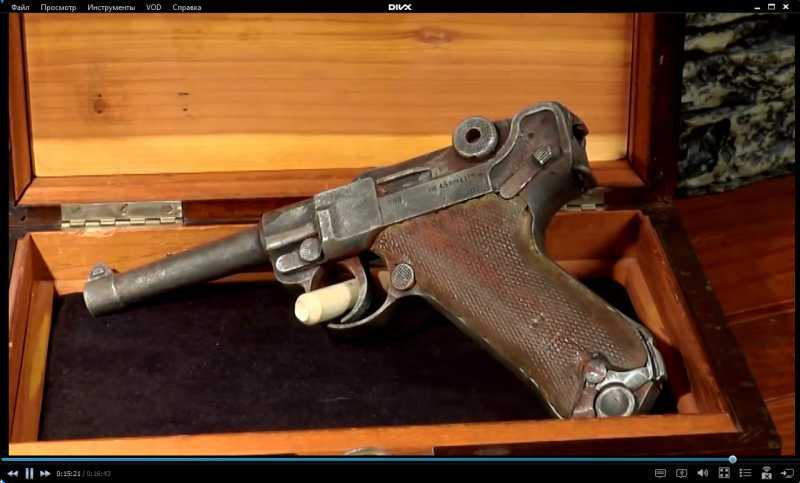 7)Изменение внешнего вида пистолета Umarex Legends P.08 до состояния