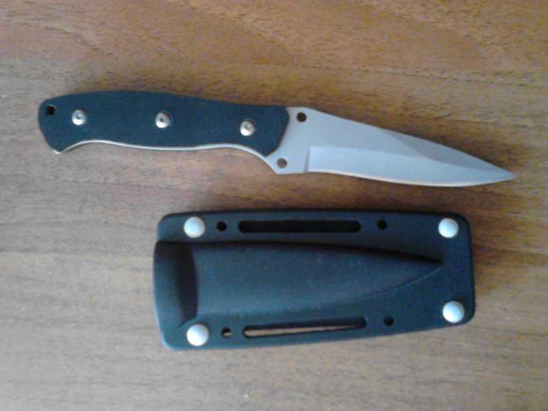 2)Обычная заточка ножа