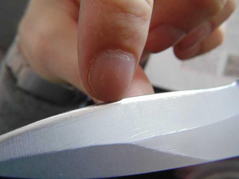 9)Обычная заточка ножа