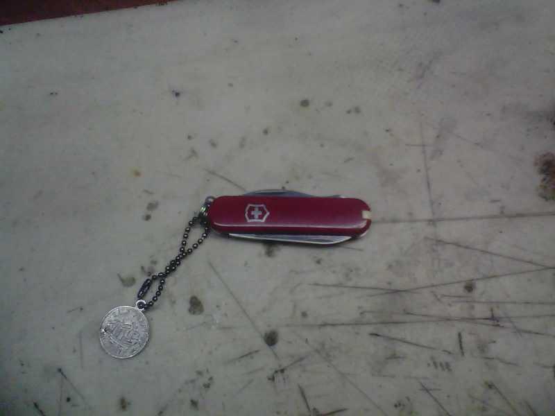 1)Просто так, или мой самый универсальный нож