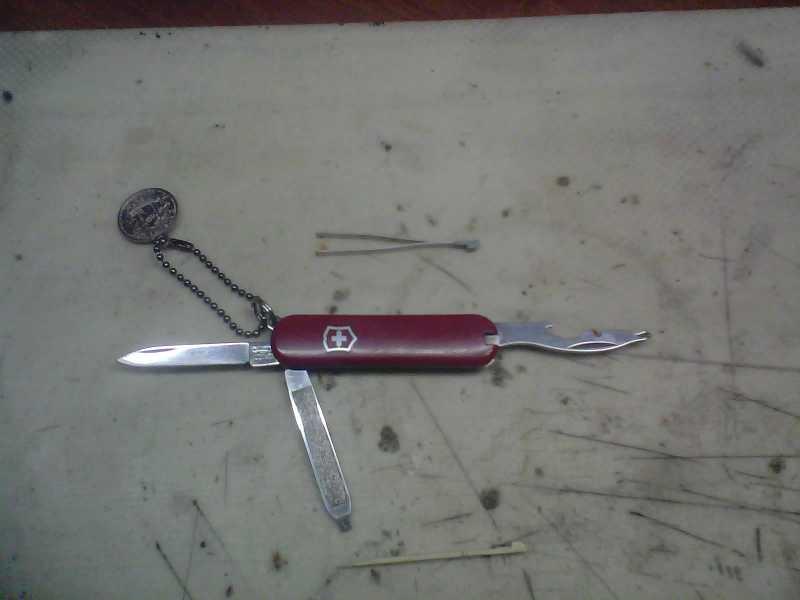 2)Просто так, или мой самый универсальный нож