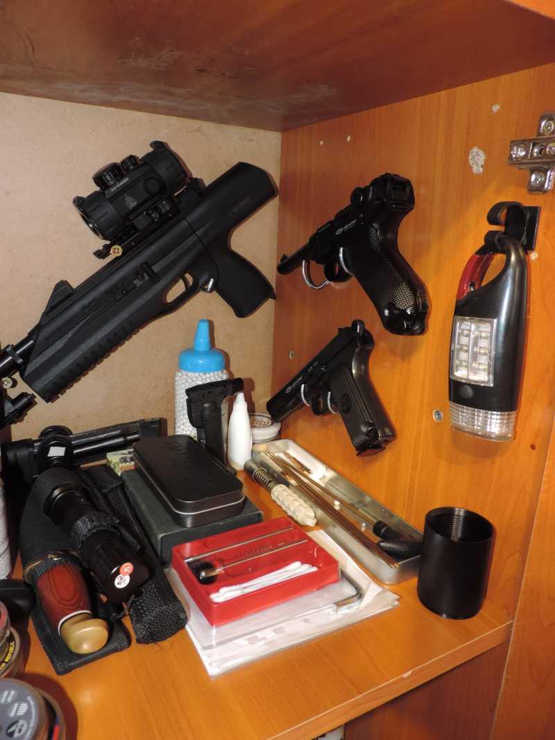 3)Хранение Пневматики дома.