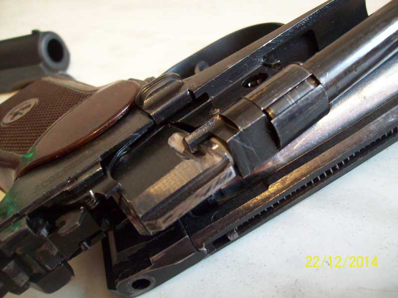13)Переделка корпуса клапана МР 654-32 под рогатую гайку.
