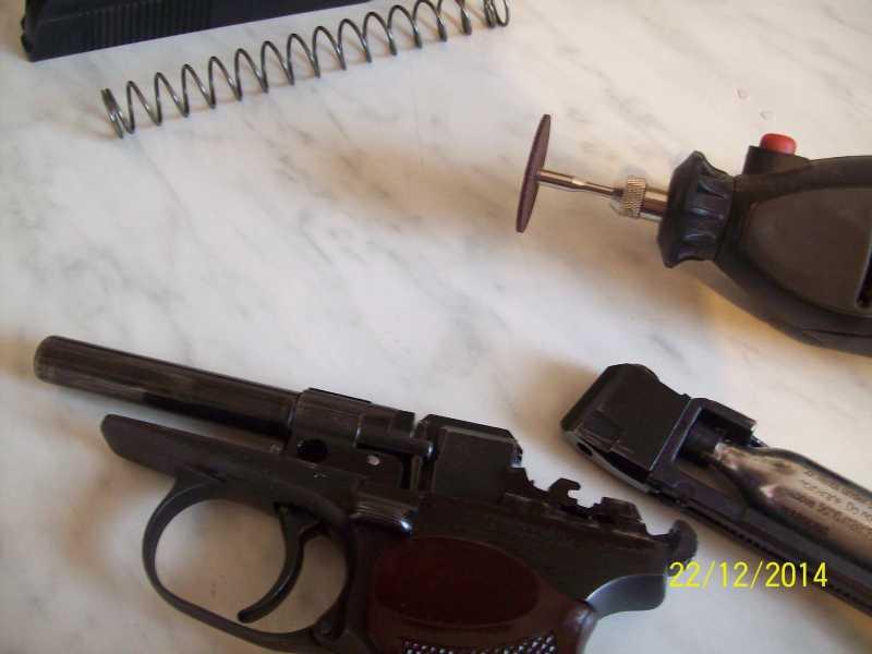 3)Переделка корпуса клапана МР 654-32 под рогатую гайку.