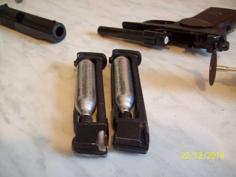 6)Переделка корпуса клапана МР 654-32 под рогатую гайку.