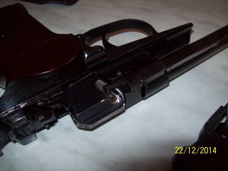 9)Переделка корпуса клапана МР 654-32 под рогатую гайку.