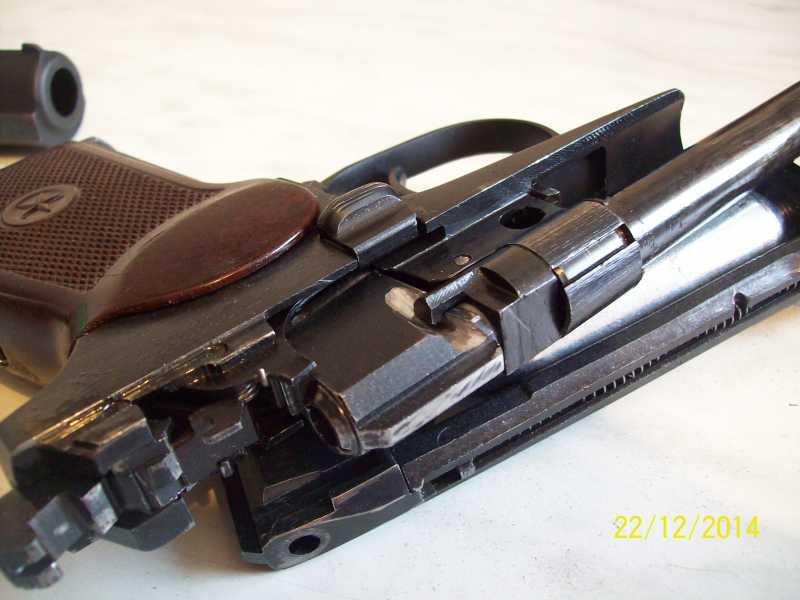 11)Переделка корпуса клапана МР 654-32 под рогатую гайку.