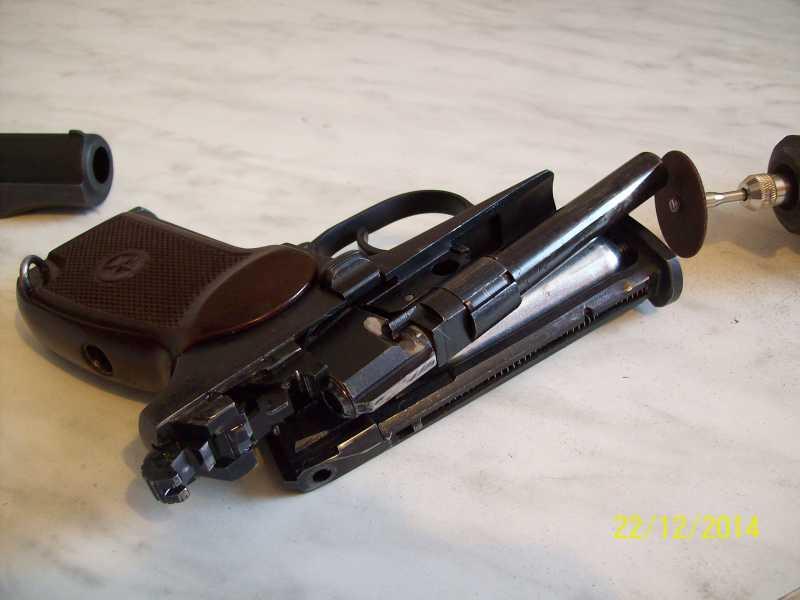 12)Переделка корпуса клапана МР 654-32 под рогатую гайку.